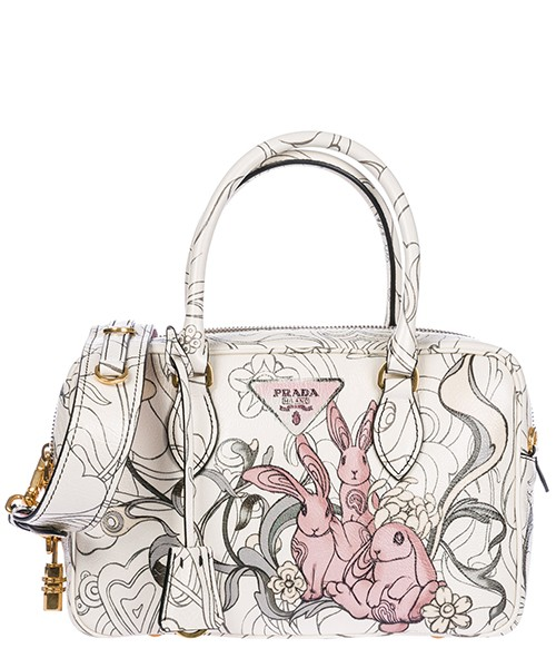 Handtasche Prada 1BB1132EAOF0384 opaline