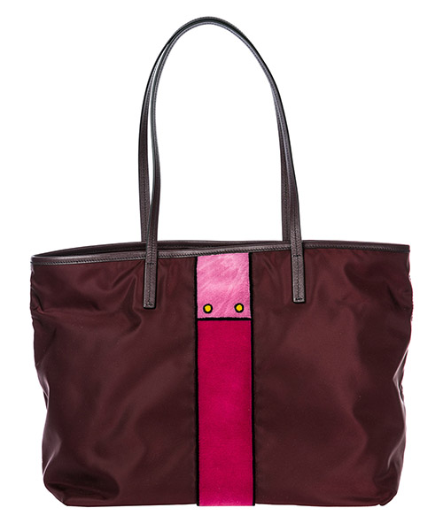 Borsa donna a spalla shopping nylon secondary image