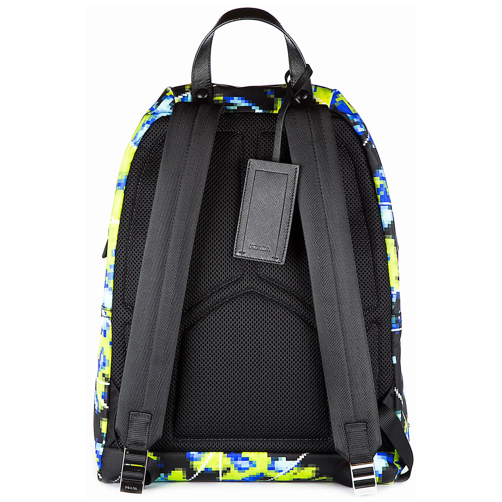 Men's nylon rucksack backpack travel