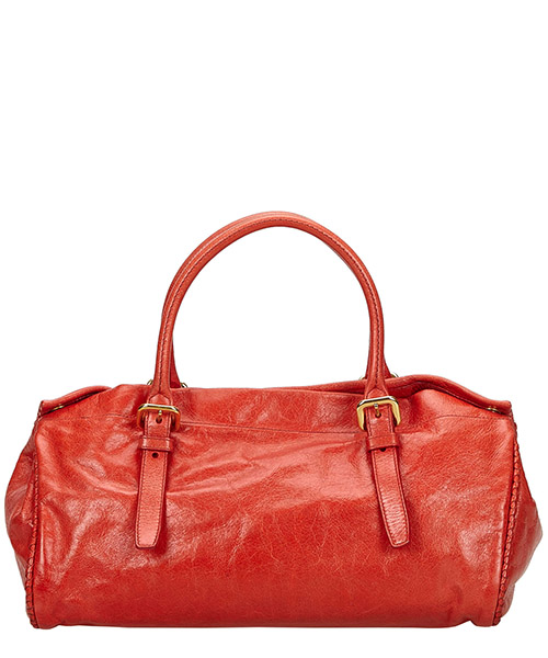 Women's leather handbag shopping bag purse secondary image