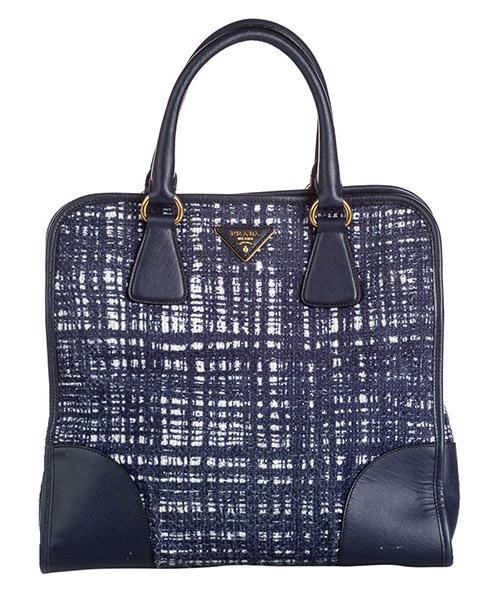 Handtaschen Prada Pre-Owned 9jprst005 blu