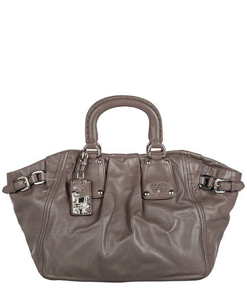 Handbags Prada Pre-Owned FF9PRTO011 grigio