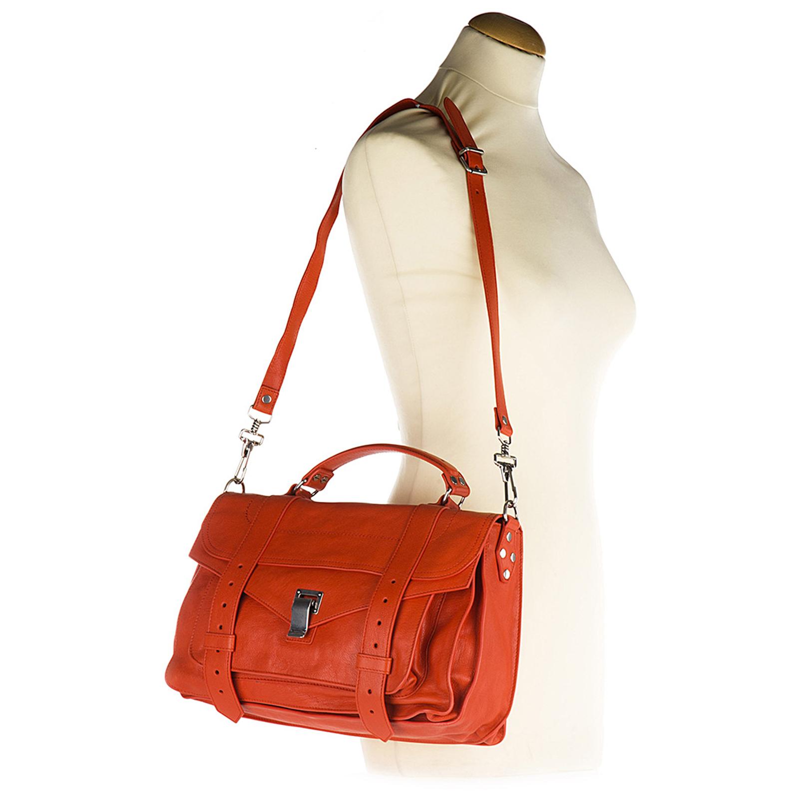Bolso de mano para compras en piel mujer medium lux