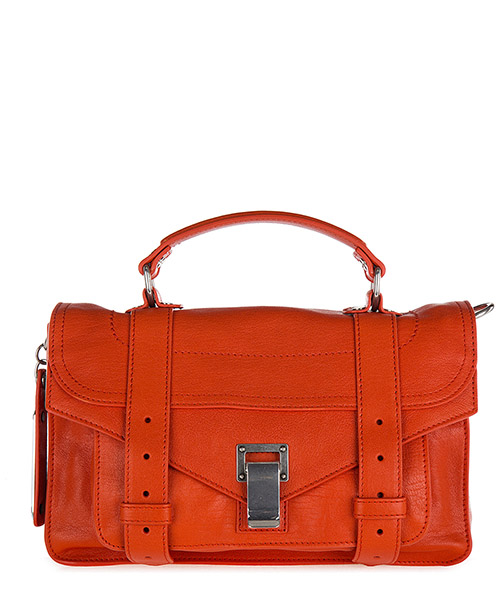 Borsa a mano Proenza Schouler H00091 L001E 3067 orange pepper