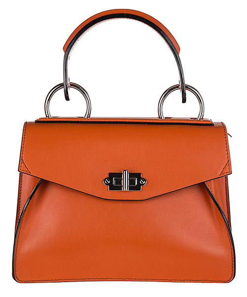 Women's leather handbag shopping bag purse hava