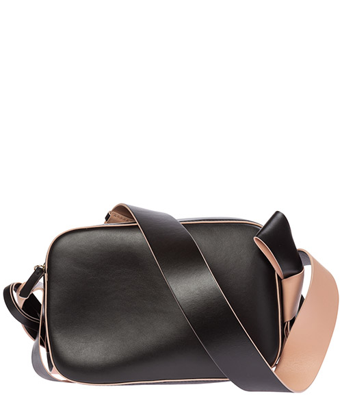 Women's leather shoulder bag  bow secondary image