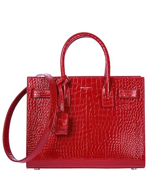 Handbag Saint Laurent 421863DND1N6805 rouge eros