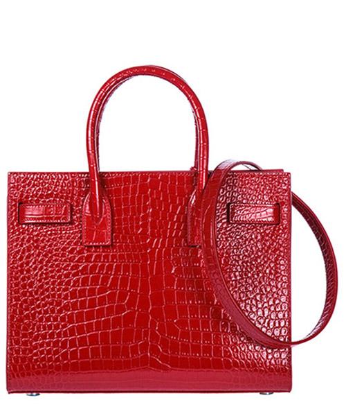 Women's leather handbag shopping bag purse jolie secondary image