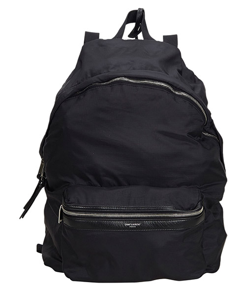 Backpack Saint Laurent Pre-Owned 9EYSBP001 nero
