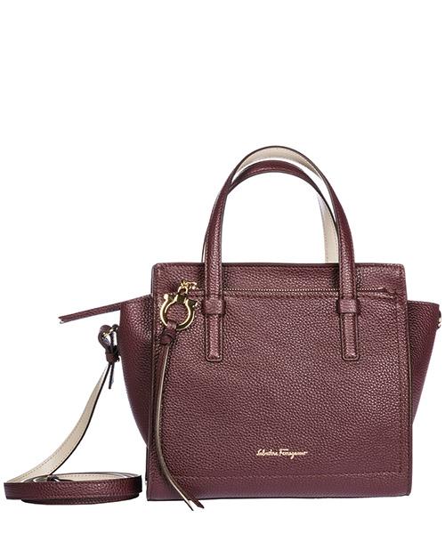 Mini bag Salvatore Ferragamo 21F478 694864 wine /peony