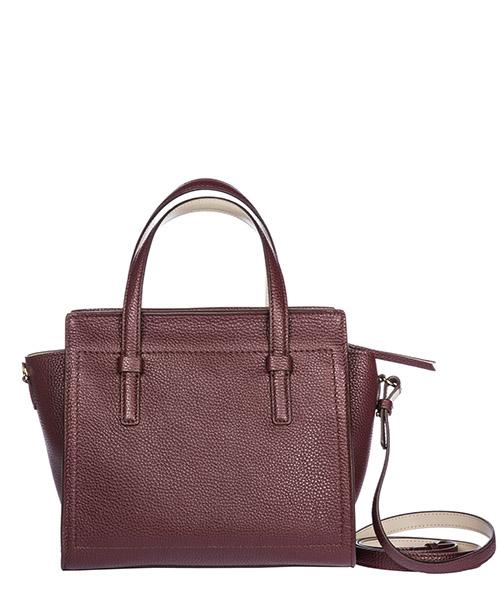 сумка с короткой ручкой женская кожаная mini tote secondary image