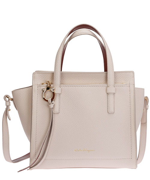 Handtaschen Salvatore Ferragamo amy 21f478 737475 beige