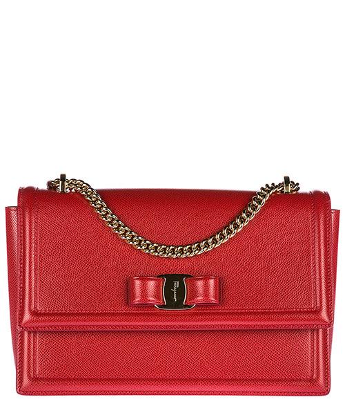 Shoulder bag Salvatore Ferragamo Ginny 21G462 674280 lipstick