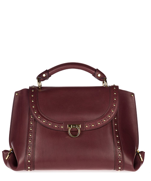 Sac à main Salvatore Ferragamo Sofia 21G805 681061 deep bordeaux