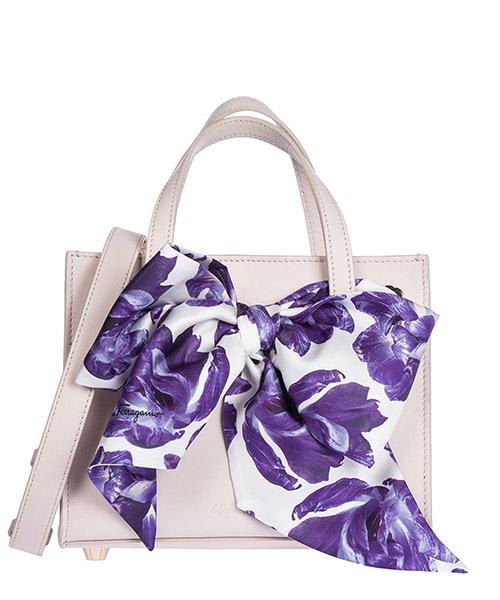 Handbag Salvatore Ferragamo 21G914 685937 jasmine flower