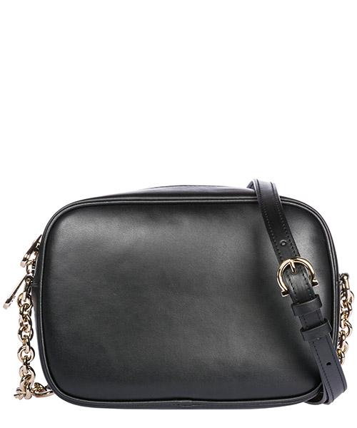 сумка через плечо женская кожаная camera bag gancini secondary image