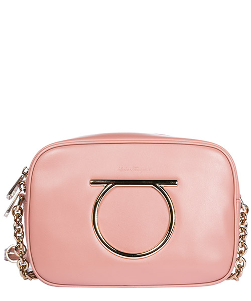 Sac bandoulière Salvatore Ferragamo 21H030 694643 antique rose