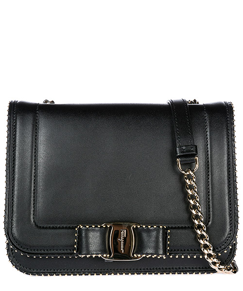 Crossbody bag Salvatore Ferragamo 21H032 690609 nero
