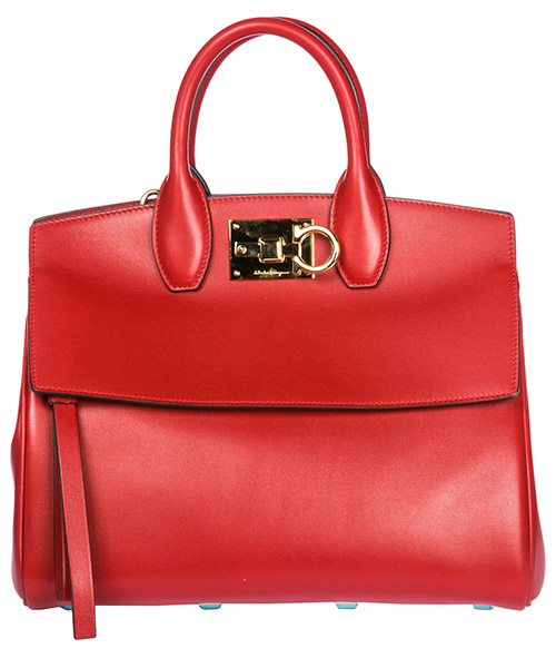 Sac à main Salvatore Ferragamo Studio bag 21H159 698955 lipstick
