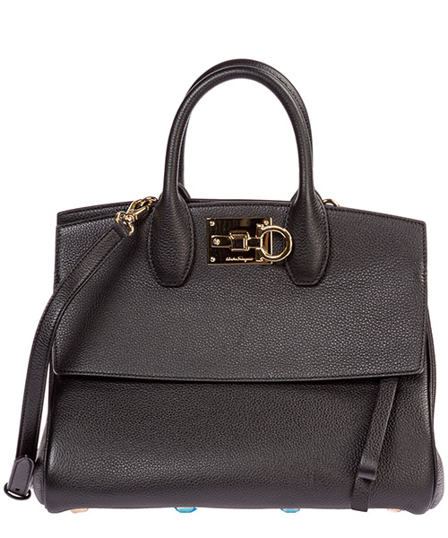 Handbags Salvatore Ferragamo Studio 21H159 718293 nero