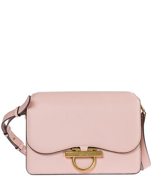 Women's leather shoulder bag