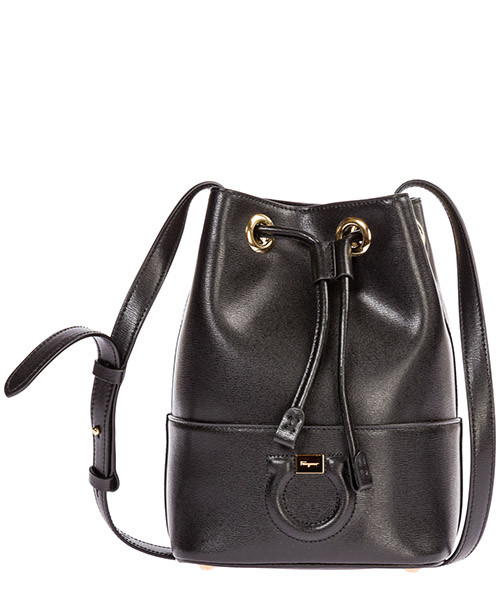 Bucket bag Salvatore Ferragamo City 21H484 705186 nero