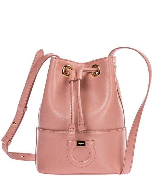Sac seau Salvatore Ferragamo City 21H484 714323 antique rose