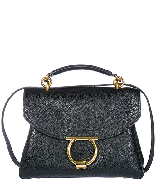 Handbag Salvatore Ferragamo Margot 21H493702599 black