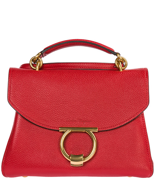 Handbag Salvatore Ferragamo Margot 21H493702604 red