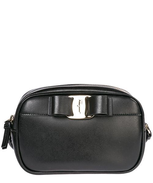Women's leather cross-body messenger shoulder bag vara