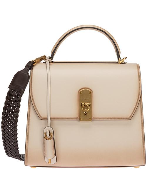 Handtaschen Salvatore Ferragamo boxyz 21h758 724586 bone