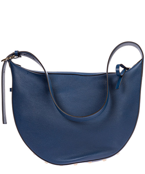Women's leather shoulder bag studio secondary image