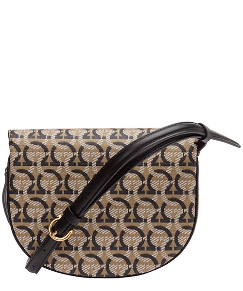 сумка через плечо женская кожаная gancini secondary image