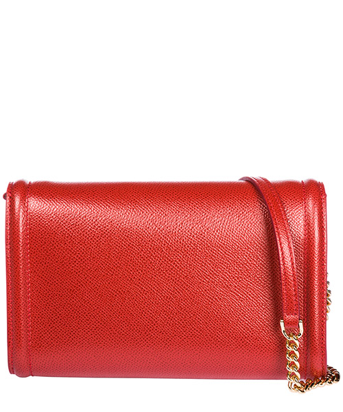 Pochette woman in pelle con racolla  bow vara secondary image