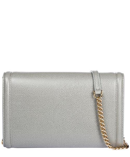 Women's leather clutch with shoulder strap handbag bag purse  fiocco vara secondary image
