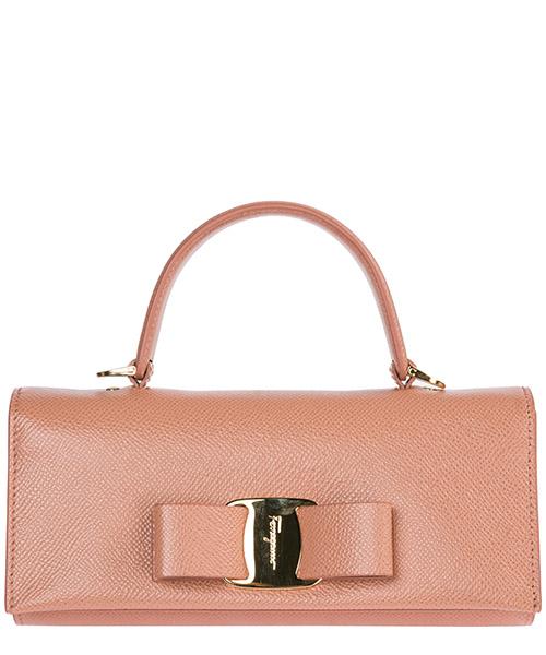 Women's leather cross-body messenger shoulder bag