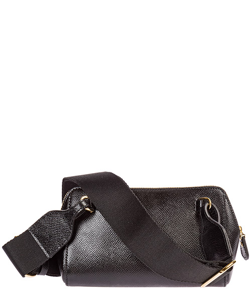 Women's leather belt bum bag hip pouch  fiocco vara secondary image