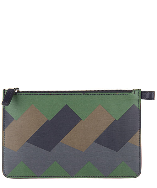 Portadocumentos Salvatore Ferragamo 636292024GRECGREE green dark pebble