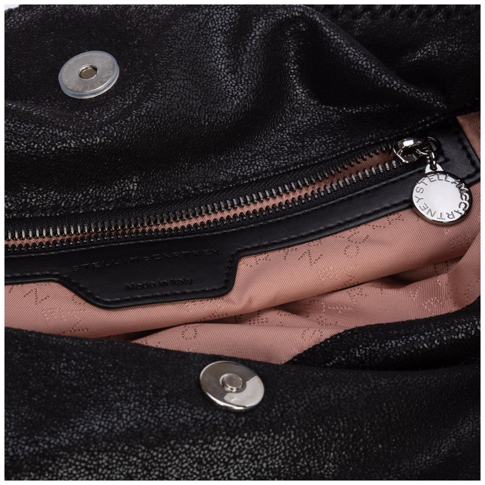 ... Women s handbag shopping bag purse falabella fold over shaggy deer ... d41c24bdf09b9