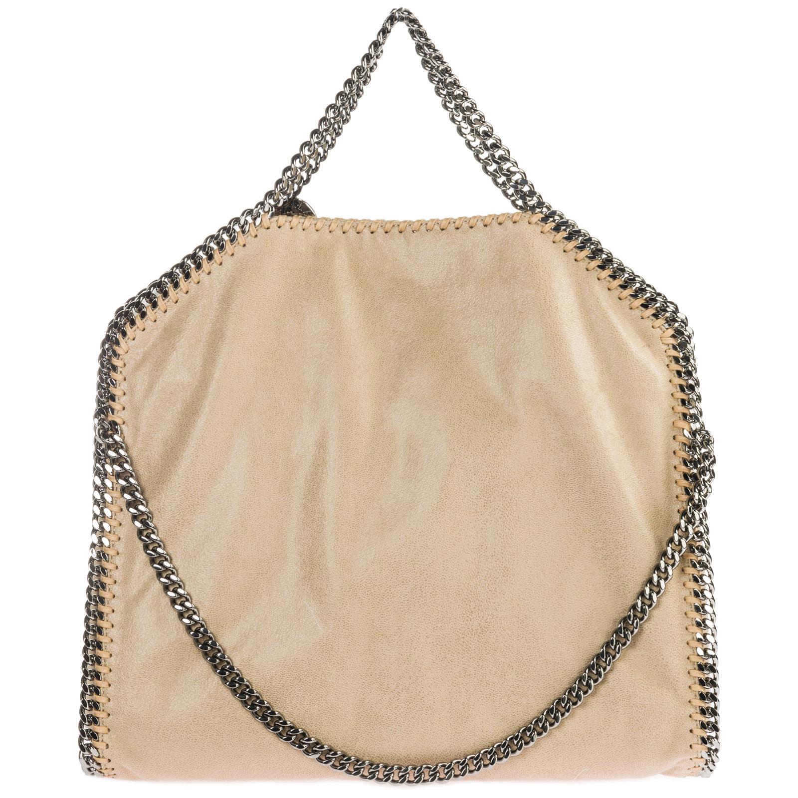 47f5fda61d7a Women s handbag shopping bag purse tote 3chain falabella fold over shaggy  deer ...