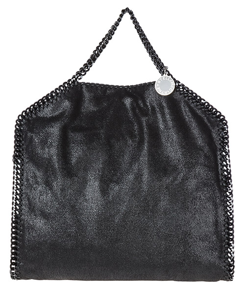 Borsa a mano Stella Mccartney falabella fold over 234387w81801000 nero