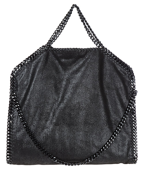 Women's handbag shopping bag purse tote 3chain falabella fold over shaggy deer secondary image