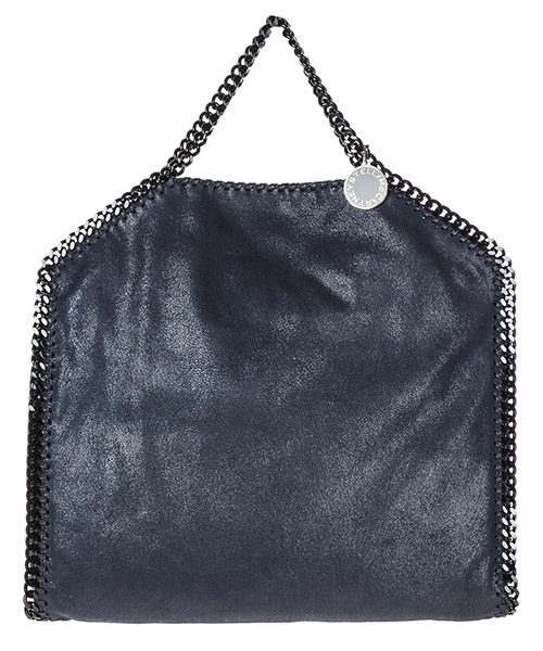 Handbag Stella Mccartney Falabella Fold Over 234387W81804061 blu