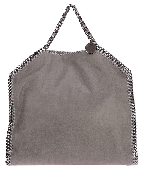 Women's handbag tote shopping bag purse 3chain falabella fold over shaggy deer secondary image