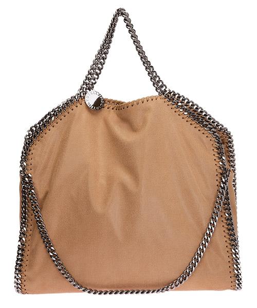 Bolsas de mano Stella Mccartney falabella fold over 234387W91322502 beige