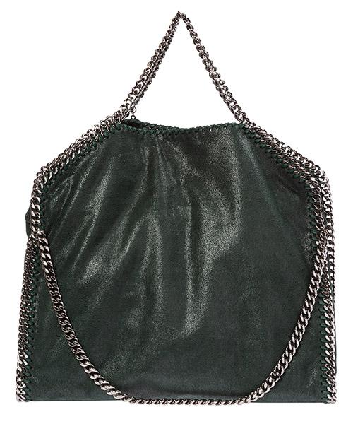 Bolsas de mano Stella Mccartney falabella fold over 234387w91323003 verde