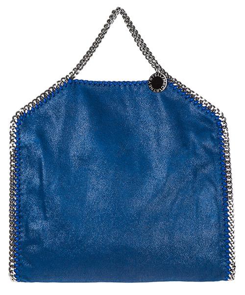 Handtasche Stella Mccartney Falabella Fold Over 234387W91324040 blu