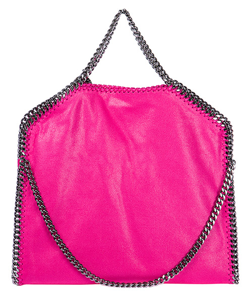 Borsa donna a mano shopping  falabella fold over 3chain shaggy deer secondary image
