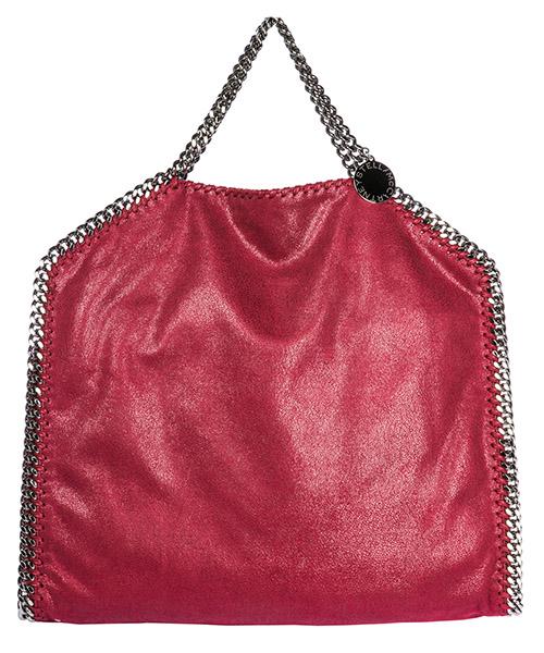 Handbag Stella Mccartney Falabella Fold Over 234387W91326201 rosso