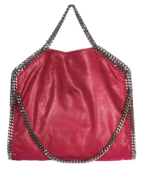 сумка с короткой ручкой женская tote 3chain falabella fold over shaggy deer secondary image